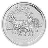 mince Rok Kozy 2015 5 Oz – stříbro