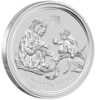 mince Rok Opice 2016 5 Oz – stříbro