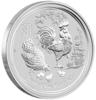 mince Rok Kohouta 2017 1/2 Oz – stříbro