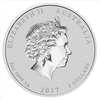 mince Rok Kohouta 2017 2 Oz – stříbro