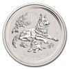 Mince měsíce mince Rok Psa 2018 1 Oz – stříbro