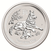 mince Rok Psa 2018 2 Oz – stříbro
