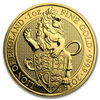 The Queen´s Beasts - The Lion of England 1 oz Au