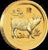mince Rok Vepře 2019 1/4 Oz – zlato
