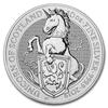 The Queen's Beasts – The Unicorn 10 oz - stříbro