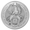 The Queen's Beasts - Griffin of Edward III. 10 oz - stříbro