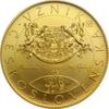 mince Vznik Československa 1 oz b.k. - zlato