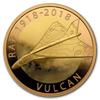Vulcan RAF 2018 1/2 Oz - zlato