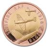 Spitfire RAF 2018 1/2 Oz - zlato