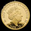 The Queen's Beasts - Yale of Beaufort 1 oz proof - zlato