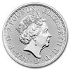 mince Britannia 1 Oz - stříbro