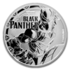mince Marvel Black Panther 1 Oz BU 2018 - stříbro