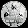 mince Marvel Deadpool 1 oz BU 2018 - stříbro