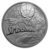 mince Marvel Spiderman 1 Oz BU 2017 - stříbro