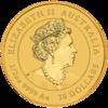 mince Rok Myši 2020 1/2 Oz BU - zlato