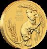 Novinka měsíce mince Rok Myši 2020 1 Oz BU – zlato