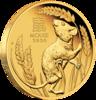 mince Rok Myši 2020 1/4 Oz Proof - zlato