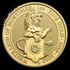 The Queen's Beasts - White Lion 1 oz - zlato
